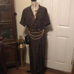 Robbie Bee Silk Dress